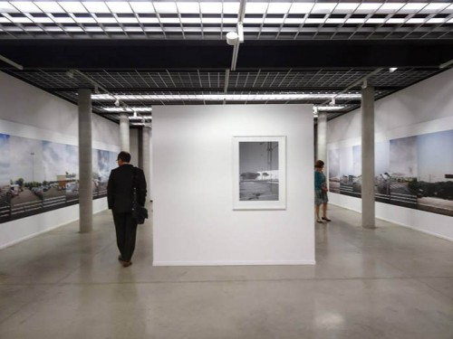 Exhibition view, musée de la photographie, 2015